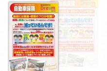 未使用車専門店 ドリーム加古川店自動車保険フライヤー