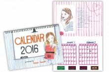 生活編集館サクレ2016 オリジナルカレンダー