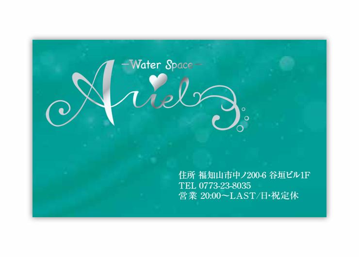Arielショップカード